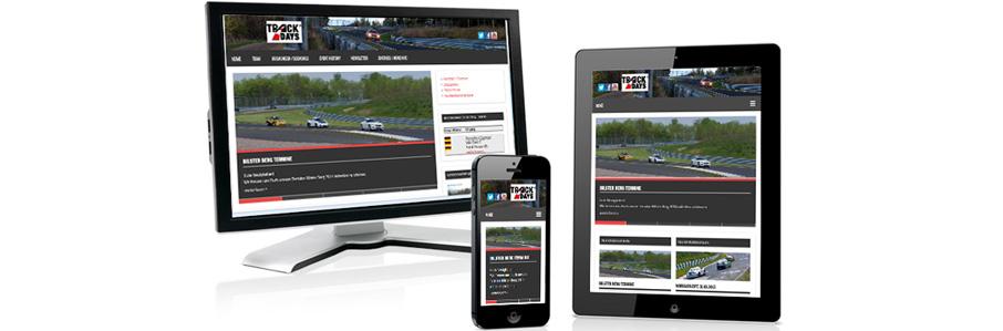 Relaunch Webseite trackdays.de
