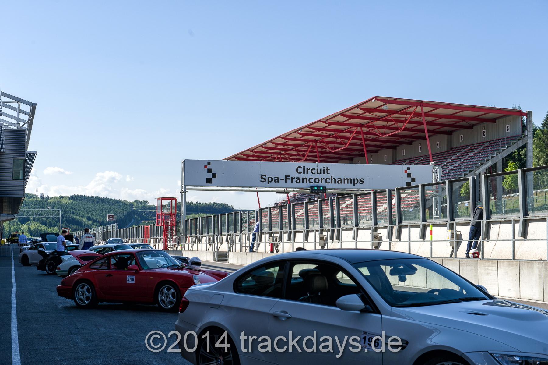Trackdays 2x Spa / 2 x Nordschleife 2017!