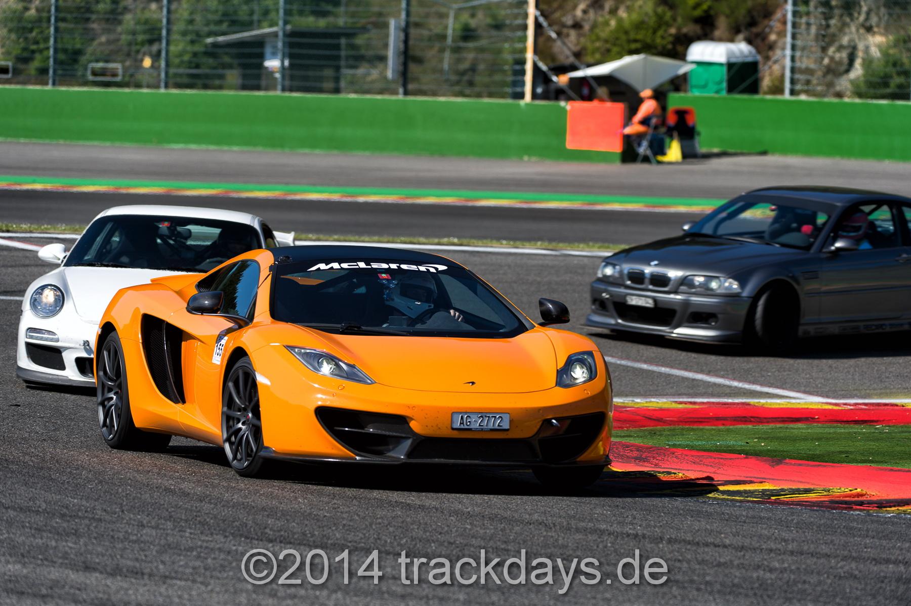 Trackdays.de @ Spa Francorchamps!