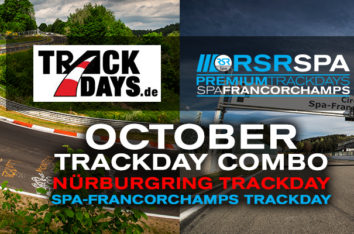 Special: Combo Trackday 19.10./20.10.18 NoS / Spa!!